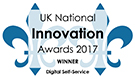 UK National Innovation Awards 2017 Digital Self Service Winner